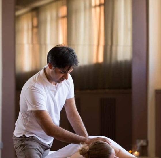 Embodiment Works back massage